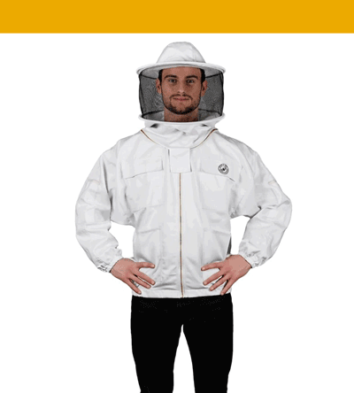 humble bee polycotton beekeeping suit