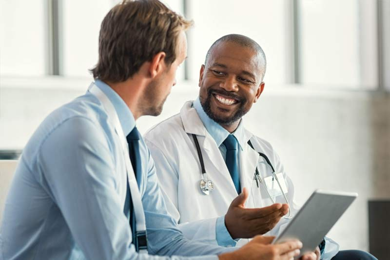 Pair of medical providers